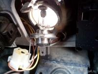 Замена лампочек ближний и габариты