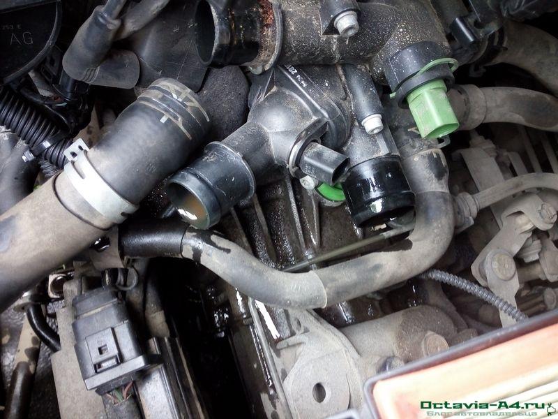 закрыть при заведенном двигателе шкода октавия
